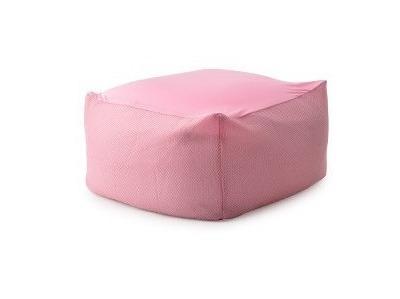 ピンクのビーズクッション・ソファー