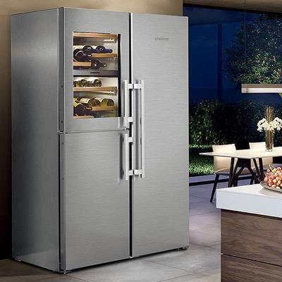 LIEBHERR(リープヘル)ステンレス大型冷蔵庫