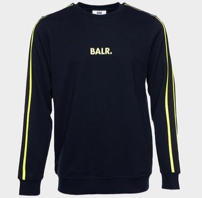BALR. TAPED STRAIGHT CREW NECK