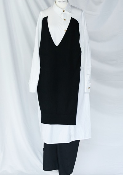 ENFOLD DRESS