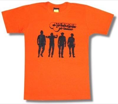 ROLLOVER時計じかけのオレンジ Clockwork Orange Tシャツ