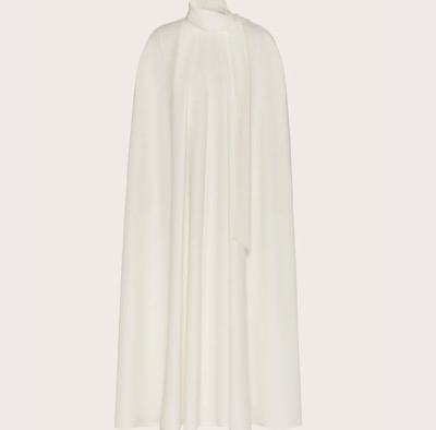 Valentino キャディクチュール ケープドレス
