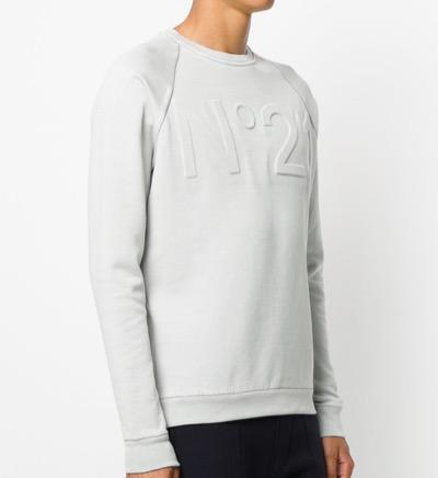 N°21 Embossed Logo Sweatshirt
