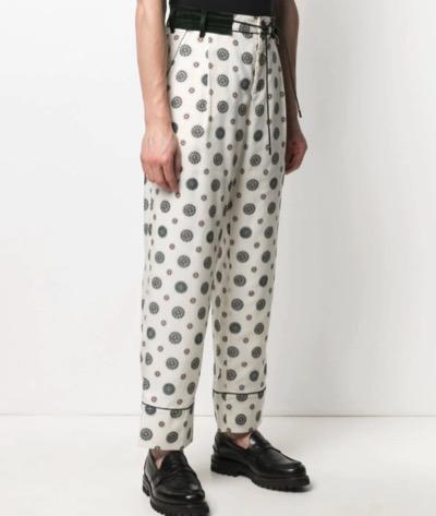 Sacai ドローストリング パジャマパンツ