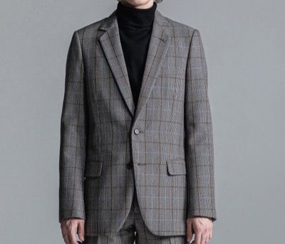 LITHIUM CHECK NOTCHED MIDDLE 2B JACKET