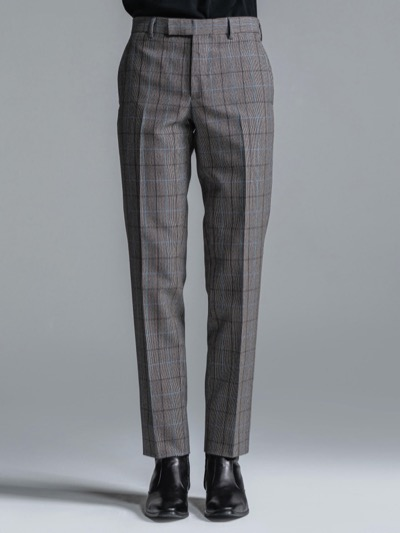 LITHIUM CHECK TROUSERS