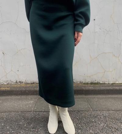 DOUBLE STANDARD CLOTHING モノフィラエアクッション スカート