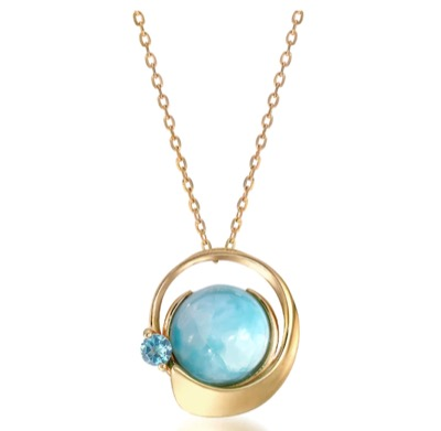 STAR JEWELRY K10 ネックレス