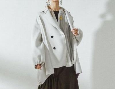 UN3D. アシメルーズジャケット