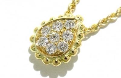 BOUCHERON セルパンボエム ダイヤモンド ペンダント ネックレス