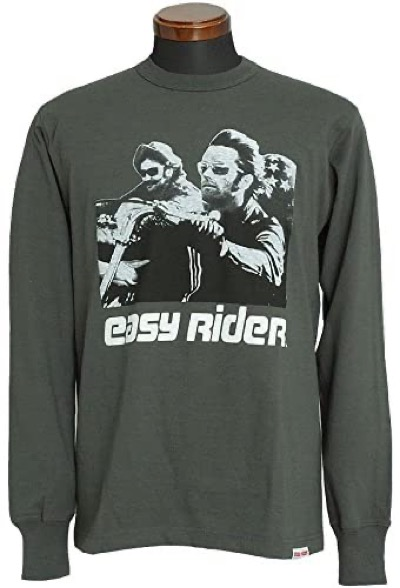 TOYS McCOY EASY RIDER ロングスリーブ Tシャツ