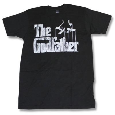 映画「ゴッドファーザー」モチーフデザインのTシャツ