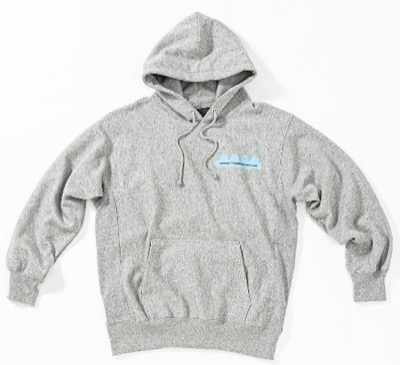 ACANTHUS muta Trimming Pocket Hooded Sweatshirt
