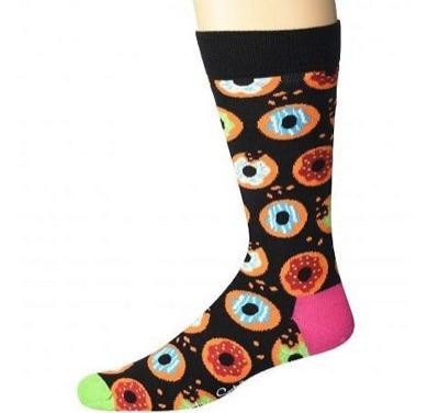 Happy Socks Donut Sock Black Combo