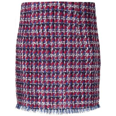 ETRO ストレート ツイードスカート