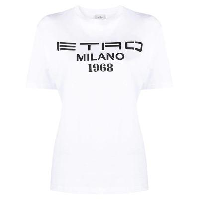 ETRO ロゴ Tシャツ