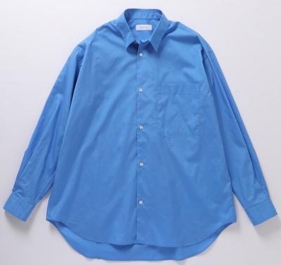 ADAM ET ROPE' ビッグシルエット レギュラーカラーシャツ