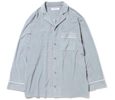 GELATO PIQUE HOMME パイルシャツ