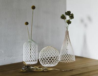 tint(ティント) 3Dプリントの花器シリーズ