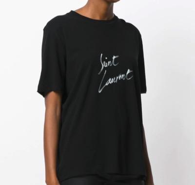 SAINT LAURENT ロゴディテール Tシャツ