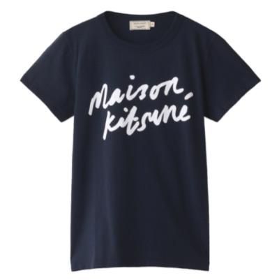 MAISON KITSUNÉ Handwriting Classic T シャツ