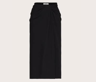 Valentino キャディストレッチ ミディスカート