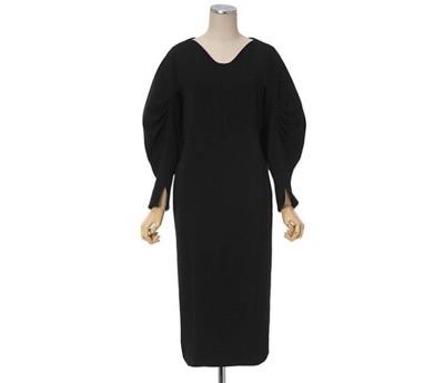 Mame Kurogouchi Classics Curve-Shaped Dress