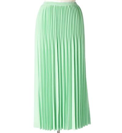 Drawer(ドゥロワー) 18Gプリーツニットスカート