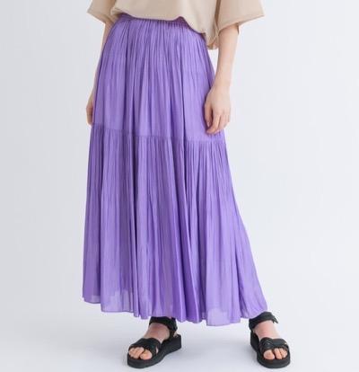 KATHARINE ROSS(キャサリンロス) 2段プリーツ ティアードスカート