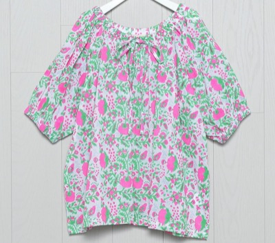 H BEAUTY&YOUTH TRACY TOP ブラウス