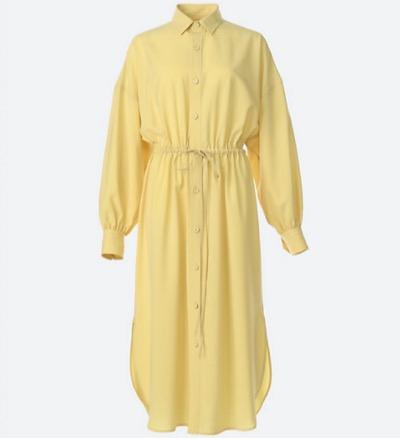 HYKE SHIRT DRESS