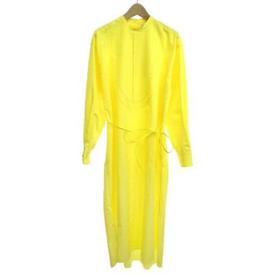 HYKE(ハイク) 20AW BIB FRONT SHIRT DRESSBIB FRONT SHIRT DRESS