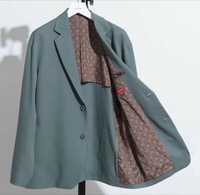 MAISON SPECIAL ウールラグランテーラードジャケット