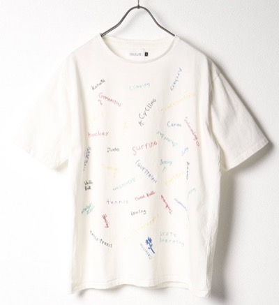 CAL O LINE EMBROIDERYTシャツ