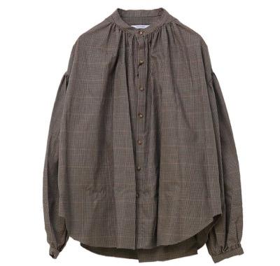 MANON チェック&ストライプアミカルシャツ