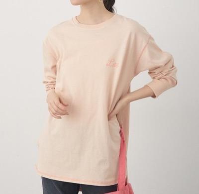 Lee × ViS コットンロングスリーブTシャツ