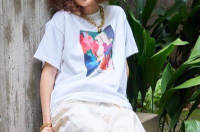 MAISON SPECIAL 10-20 ドローイングTシャツ