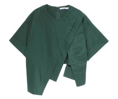 UN3D. アシメレイヤードショートシャツ