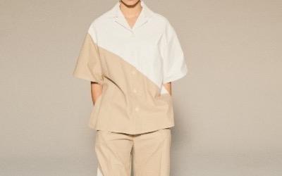 LE CIEL BLEU White Printed Shirt