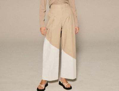 LE CIEL BLEU White Printed Pants