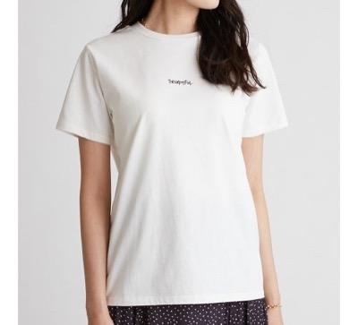 Mila Owen 手書き風ロゴTシャツ