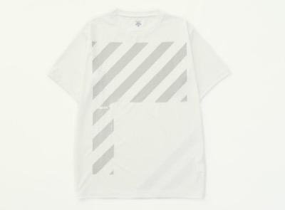 DESCENTE  ストライプTシャツ