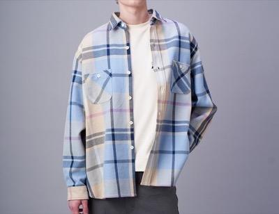 CIAOPANIC オーバーサイズチェックシャツジャケット