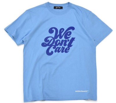 Marbles WE DON'T CARE TEE