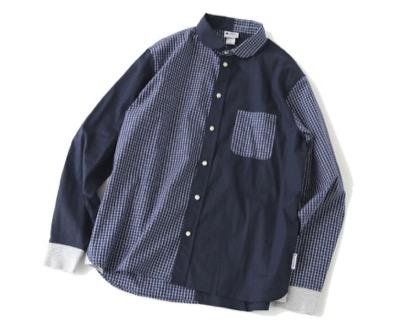 gym master 2WAYショールカラー ロングスリーブシャツ
