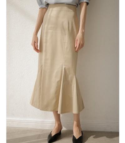 TONAL マチフレアマーメイドスカート