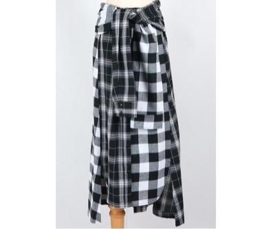 AULA AILA 3WAYチェックシャツドレス
