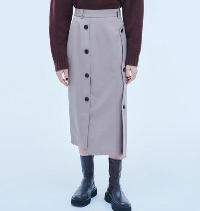 UNITED TOKYO ウェーブカッティングスカート