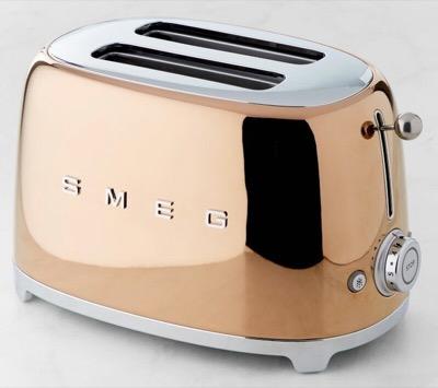 Williams-Sonoma(ウイリアムズ・ソノマ) Smeg(スメッグ) 2-Slice Toaster(トースター)