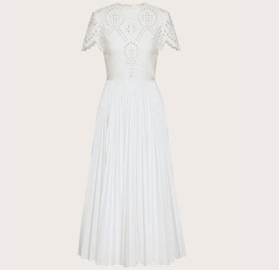 VALENTINO サンガロ エディション テクノポプリン ドレス